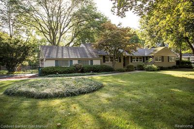 Birmingham Single Family Home For Sale: 1578 Lakeside Dr