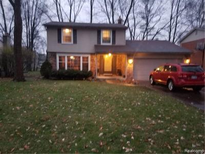Southfield Single Family Home For Sale: 30009 Spring River Dr
