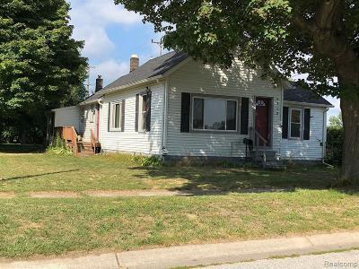 Port Huron MI Single Family Home For Sale: $79,000