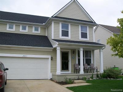 Chesterfield MI Single Family Home For Sale: $209,900