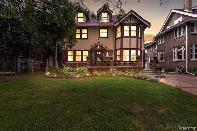 Detroit Single Family Home For Sale: 1475 Chicago Blvd