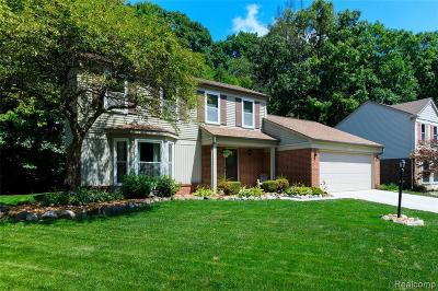 Westland Single Family Home For Sale: 33948 Sandwood Dr