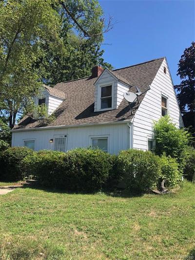 Pontiac Single Family Home For Sale: 1156 Joslyn Ave