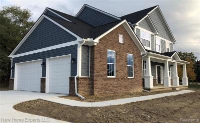 Clarkston Single Family Home For Sale: 6518 Cambridge Cir