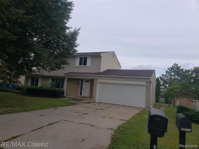 Warren MI Single Family Home For Sale: $209,900
