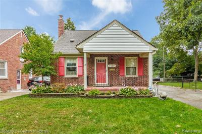 Dearborn Single Family Home For Sale: 1528 Kingsbury Ave