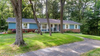 Oakland County Single Family Home For Sale: 509 Sands Rd