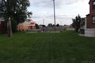 Saint Clair Shores Residential Lots & Land For Sale: Barton