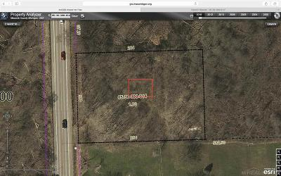 Ray, Ray Twp Residential Lots & Land For Sale: Vacant North Avenue