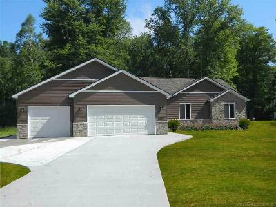 Algonac MI Single Family Home For Sale: $229,900