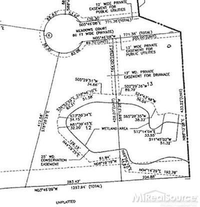 Residential Lots & Land For Sale: 2421 Meadows Court