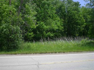 Macomb Twp Residential Lots & Land For Sale: 54846 North Ave