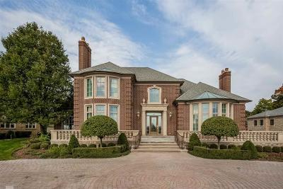 Grosse Pointe Shores MI Single Family Home For Sale: $1,939,000