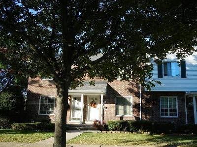 Saint Clair Shores Condo/Townhouse For Sale: 22903 Allen Ct