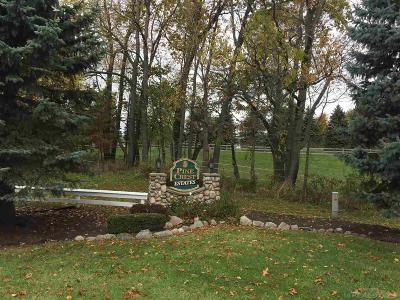 Lapeer Residential Lots & Land For Sale: Unit #3 Pinecrest