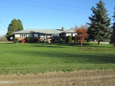 Riley Single Family Home For Sale: 11768 Hill