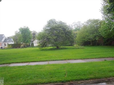Grosse Pointe Park Residential Lots & Land For Sale: 882 Ellair Place 2