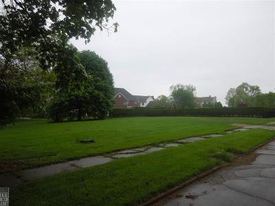 Grosse Pointe Park Residential Lots & Land For Sale: 850 Ellair Place