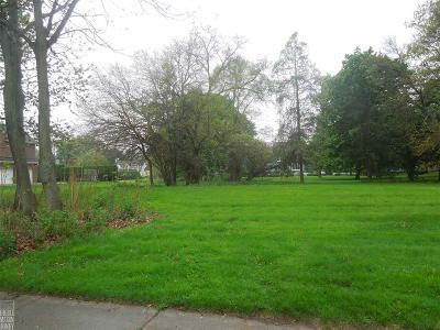 Grosse Pointe Park Residential Lots & Land For Sale: 865 Bishop Rd