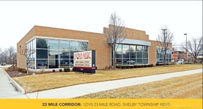 Shelby Twp Commercial/Industrial For Sale: 12745 23 Mile