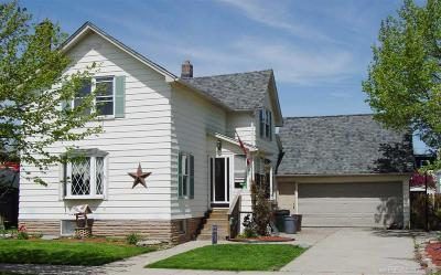 Marine City MI Single Family Home For Sale: $74,950