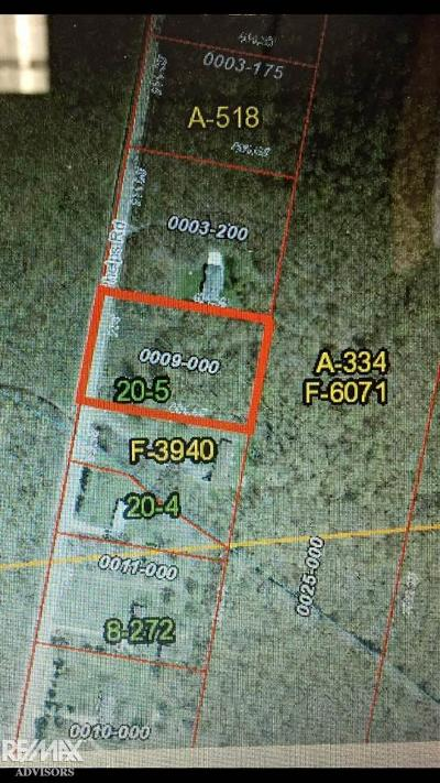 Clay Twp Residential Lots & Land For Sale: Phelps