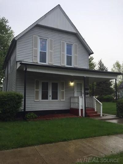 Mount Clemens Multi Family Home For Sale: 20 Stapleton