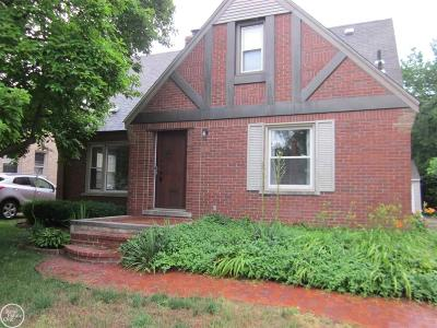 Grosse Pointe Single Family Home For Sale: 488 Bournemouth