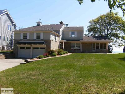 St. Clair Single Family Home For Sale: 4582 Lakeshore