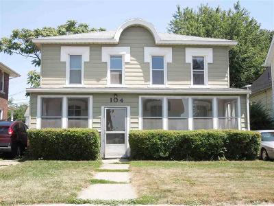 Mount Clemens Multi Family Home For Sale: 104 Market Street