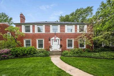 Grosse Pointe Park MI Single Family Home For Sale: $529,000