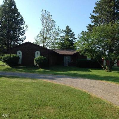 Riley Single Family Home For Sale: 11622 Gilbert