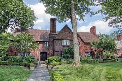 Grosse Pointe, Grosse Pointe Farms, Grosse Pointe Park, Grosse Pointe Shores, Grosse Pointe Woods Single Family Home For Sale: 138 Kenwood