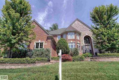Washington Twp Single Family Home For Sale: 61398 Barclay Drive