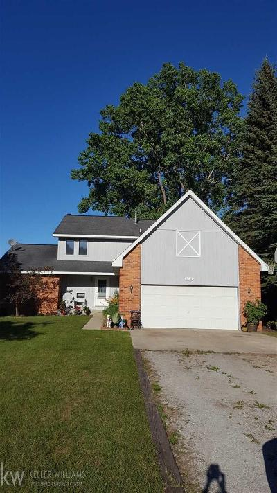 St. Clair Single Family Home For Sale: 5730 Lakeshore