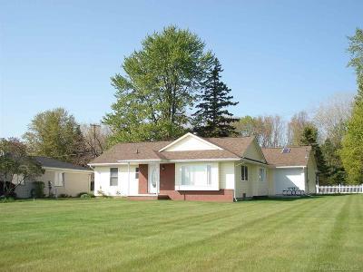 Burtchville Single Family Home For Sale: 6142 Wildrose