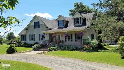 St. Clair Single Family Home For Sale: 10327 Fisher - 80 Acres
