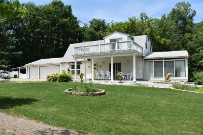 Bruce Single Family Home For Sale: 80195 Van Dyke