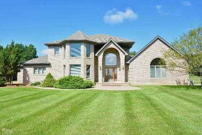 Lapeer Single Family Home For Sale: 5860 Sandhill Rd