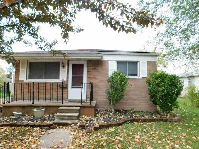Mount Clemens Single Family Home For Sale: 56 Inches