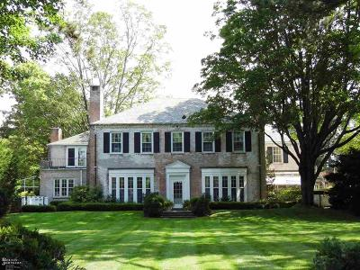 Grosse Pointe, Grosse Pointe Farms, Grosse Pointe Park, Grosse Pointe Shores, Grosse Pointe Woods Single Family Home For Sale: 481 Kercheval