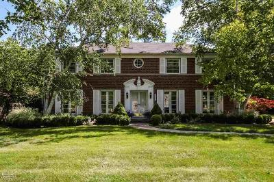 Grosse Pointe Park Single Family Home Closed: 1026 Balfour