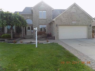 Macomb Twp Single Family Home For Sale: 54866 Mahogany Drive