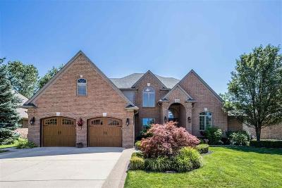 Harrison Twp Single Family Home For Sale: 38724 Glenmar Lane
