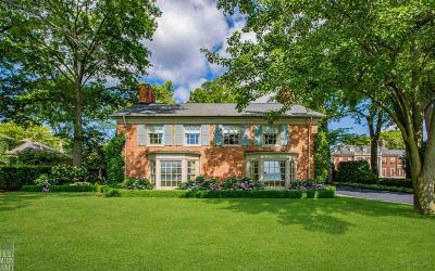 Grosse Pointe Farms Single Family Home For Sale: 415 Lake Shore Rd