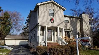 Saint Clair Shores Single Family Home For Sale: 20843 Crowley St