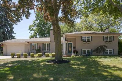 Grosse Pointe Shores Single Family Home For Sale: 41 Briarcliff