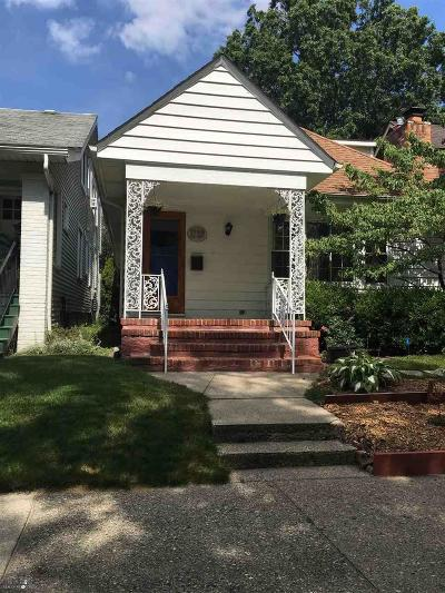 Grosse Pointe Park Single Family Home For Sale: 1132 Lakepointe