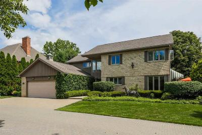 Grosse Pointe Single Family Home For Sale: 16 Sycamore Lane