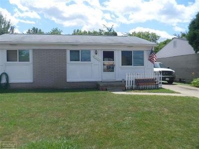 Clinton Township Single Family Home For Sale: 21650 Sharkey